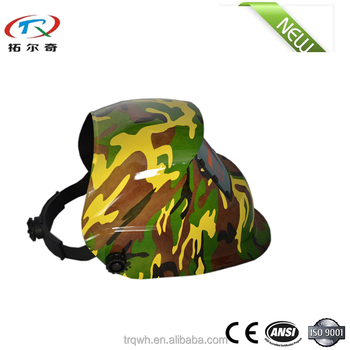 ce en175 custom Air Predator Auto Face factory price skull industrial solar welding helmet