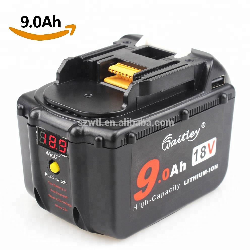Aggressive 10 Pcs Bl1830 Battery Plastic Case Pcb Charging Protection Board For Makita 18v Bl1850 3.0ah 5.0ah Led Li-ion Battery Indicator Hand & Power Tool Accessories