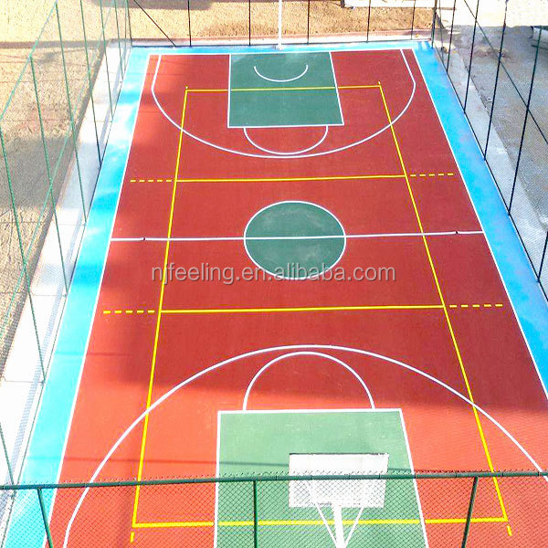 Rubber Outdoor Basketball Court Flooring Coating, Rubber Outdoor Basketball  Court Flooring Coating Suppliers And Manufacturers At Alibaba.com