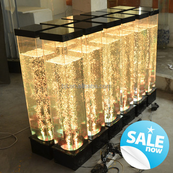 led acrylic square bubble lamp christmas decorations made in china