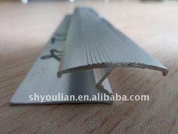 Fußbodenbelag Schneiden ~ Stock Übergang streifen aluminium teppich verbinden schneiden