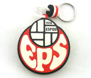 Clients' custom logo key chains free samples floating key chains