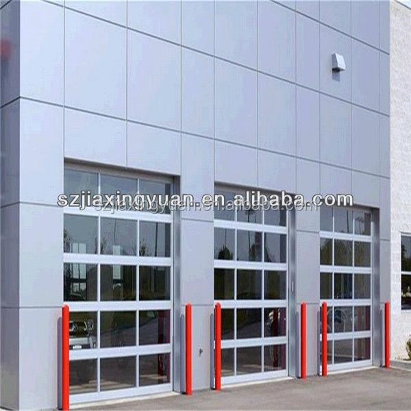Used Commercial Exterior Glass Garage Door Wholesale Door Suppliers