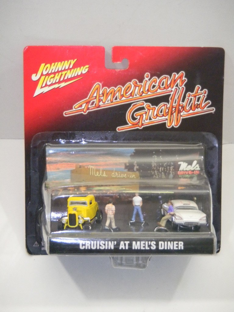 "Johnny Lightning American Graffiti "" Cruisin' At Mel's Diner """