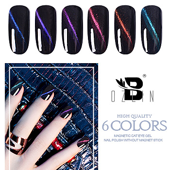 China Factory Price Magnetic 5d Cat Eye Gel Bozlin New Product Fashion Uvled Soak Off Nail Polish