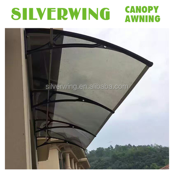 Solid polycarbonate material roof top tent door canopy shed entry window awning & Solid Polycarbonate Material Roof Top Tent Door Canopy Shed Entry ...