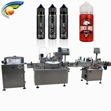 Shanghai E Juice & E Liquid Bottle Filling Machine,filling capping line