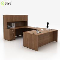 Simple Wholesale Standard Size Modern Organizer Furniture Wood Tables Desk Office for Manager