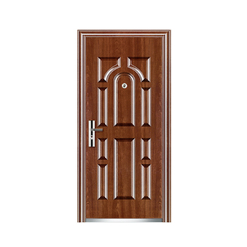Commercial Position Single Leaf Steel Door Material Exterior Steel Metal Security Doors