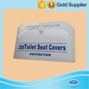 Promotional 1/2 fold disposable flushable toilet seat cover paper
