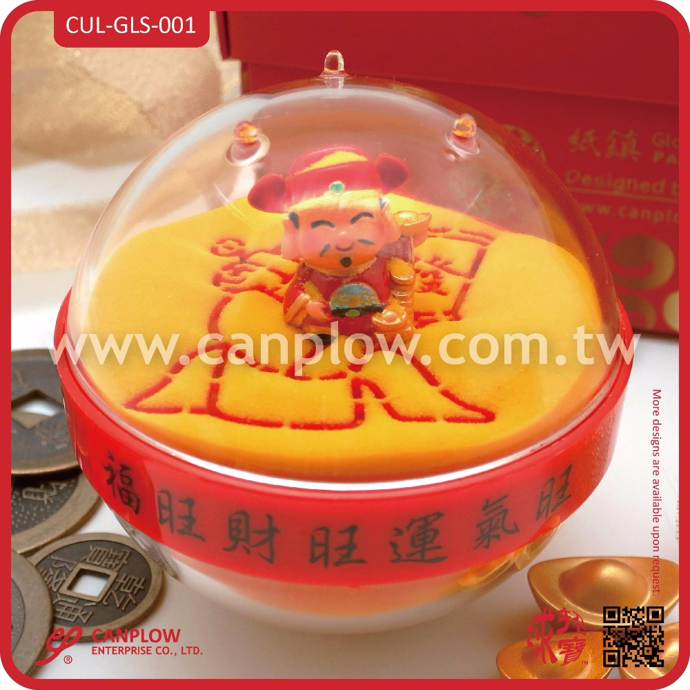Acrylic Sand Paperweight 2016 Best Chinese New Year Gift
