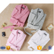 Custom New Design Safe And Warm Eco-friendly Women's Cotton Bathrobes