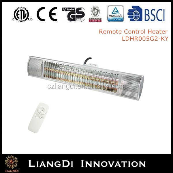 baseboard heater with remote control