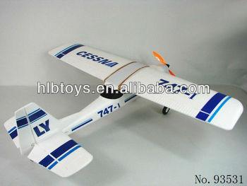 Cessna Epo Tw 747-1 Rc Hobby,2.4g 4ch Foam Plane