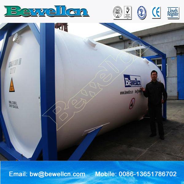 20 pieds ISO réservoir pour l'hélium liquide-Dispositifs ...