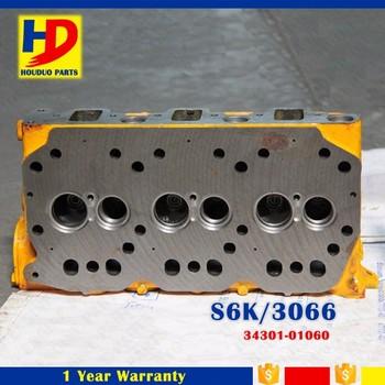 S6K Cylinder Head Used 3066 Cylinder Head For Engine Cylinder Head  34301-01060