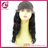 new arrival vehement for full lace wig ease for body wave free parting feel good silk black hair with baby hair