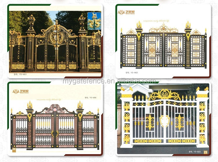 Yishujia factory New Royal Guard Series Entrance Gate, design of ...