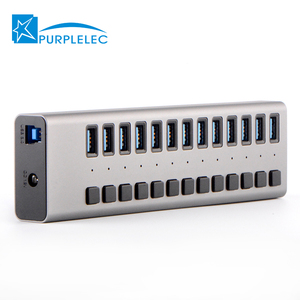Trade assurance 13 port usb 20 hub to expand your computers 13 in 1 usb hub