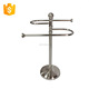 Bathroom nickel plate portable expandable table towel rack