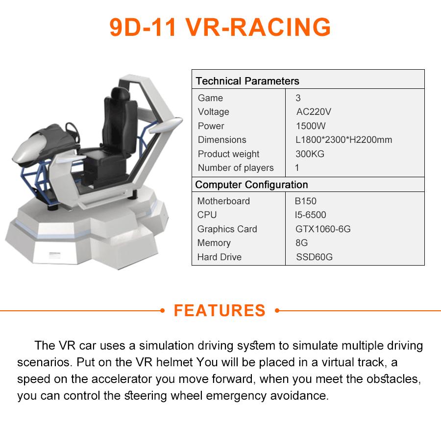 2018 Hot Adult Game Vr Race Simulator,Motion Racing Moto Cockpit Simulator  - Buy Racing Cockpit Simulator,Race Simulator,Vr Racing Moto Product on