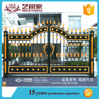 boundary wall gates/best quality aluminum gate for house and garden/main gate designs