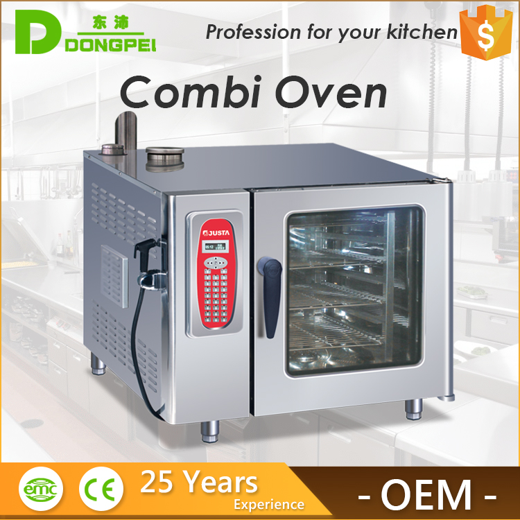 kitchen commercial 6 trays justa baking oven combi oven/combi steamer for sale