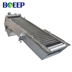 Stainless steel mechanical coarse bar screen for compact sewage treatment