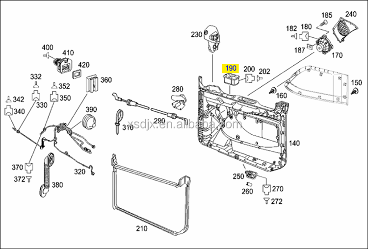 spares for mercedes benz actros trucks parts electric. Black Bedroom Furniture Sets. Home Design Ideas