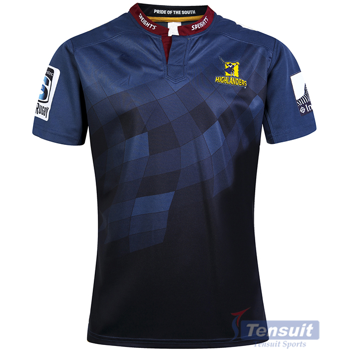 Latest design muti colors sublimation rugby football shirt breathable rugby jersey sublimated custom famous team rugby jersey