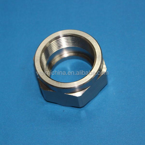 Experienced cnc machined spare part