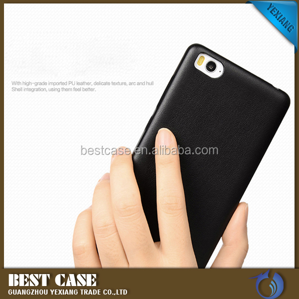 2016 New Products Shockproof PU Leather Back Cover Case For Samsung Galaxy Note 4