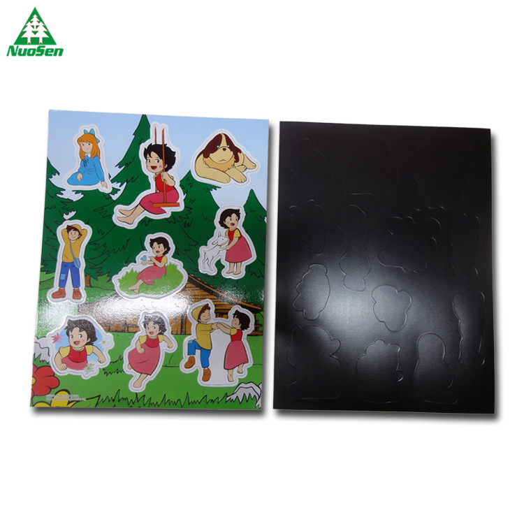Custom DIY Painting Magnet Jigsaw Puzzle for Kids