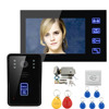 7 inch intercom system color wifi wireless video doorphone