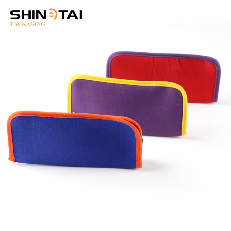 2018 Fabric Material Soft Pouch For Sunglasses Case Eyewear Accessory