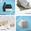 factory price PP PVC POM ABS plastic sheet