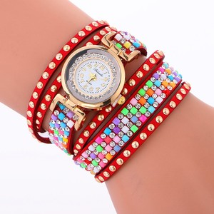 Escrow hot selling women watch bracelet stone jewelry timepiece LNW355