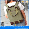 New canvas long handle table backpack for college students girls and boys