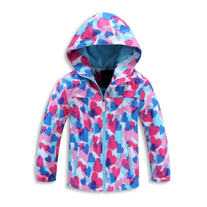 men sublimation waterproof and windproof jacket
