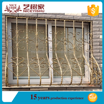 Modern steel window grills iron window grill design door for Modern zen window grills design