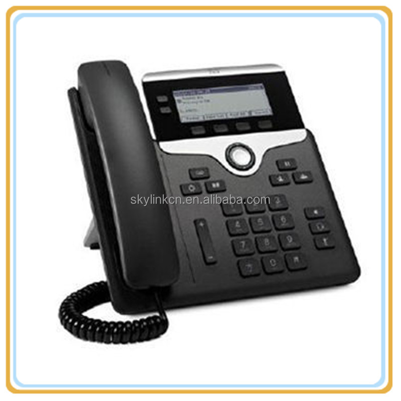IP 7821 VoIP LCD Display Conference Speaker Phone CP-7821-K9=