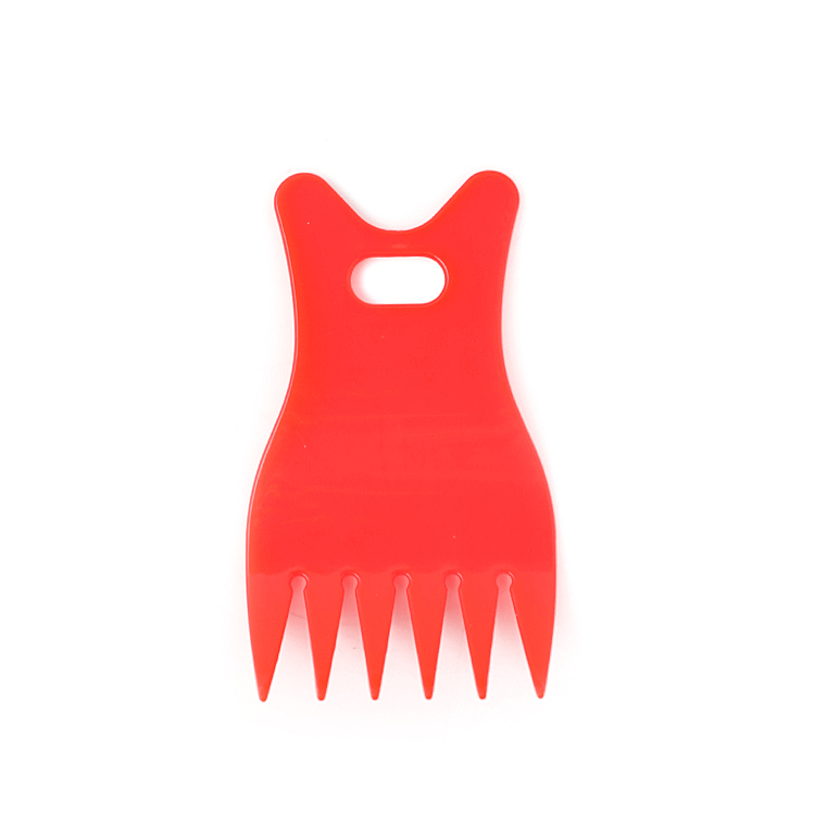 Xinlinda brand factory sell small wide tooth plastic hair comb
