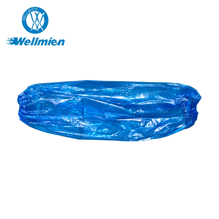 Breathable anti-dust plastic disposable oversleeve