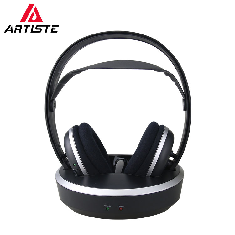 China Factory Best Wireless Bt Headphones For Tv Fashion Wireless Hi Fi Radio Headset Headphone With Transmitter View Wireless Rechargeable Headphones For Tv Artiste Product Details From Guangzhou Artiste Technology Co Ltd On