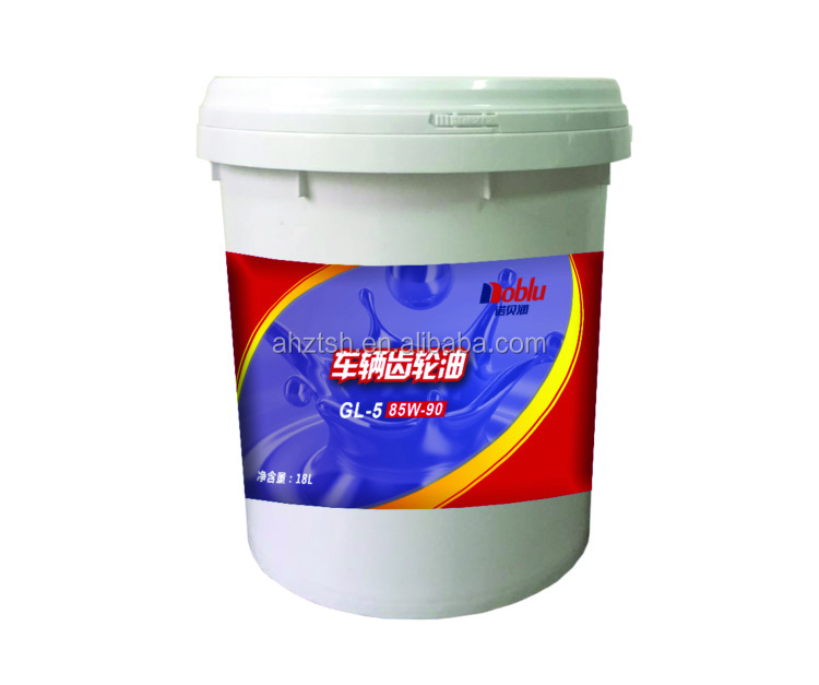 Hypoid gear oil, GL-4 80W/90, GL-5 85W140 for Gear Box and Rear Axle of Vehicles