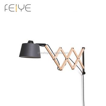 Scissor Wall Lamp Adjule Extension Swing Arm