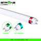 high quality 160LM/W t8 4ft led tubes TUV CE ROHS SAA G13 + metal ring rotatable cap with lock