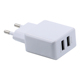 Bulk Sale for Mobile Phone Dual Port 5V 2.1A EU USB Wall Charger