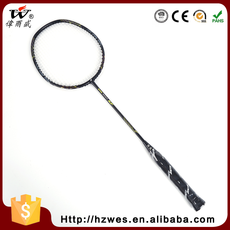 OEM ODM Training Professional Full Graphite Carbon Badminton Racket