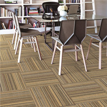 sisal carpet tiles 50cmx50cm for office pvc backing